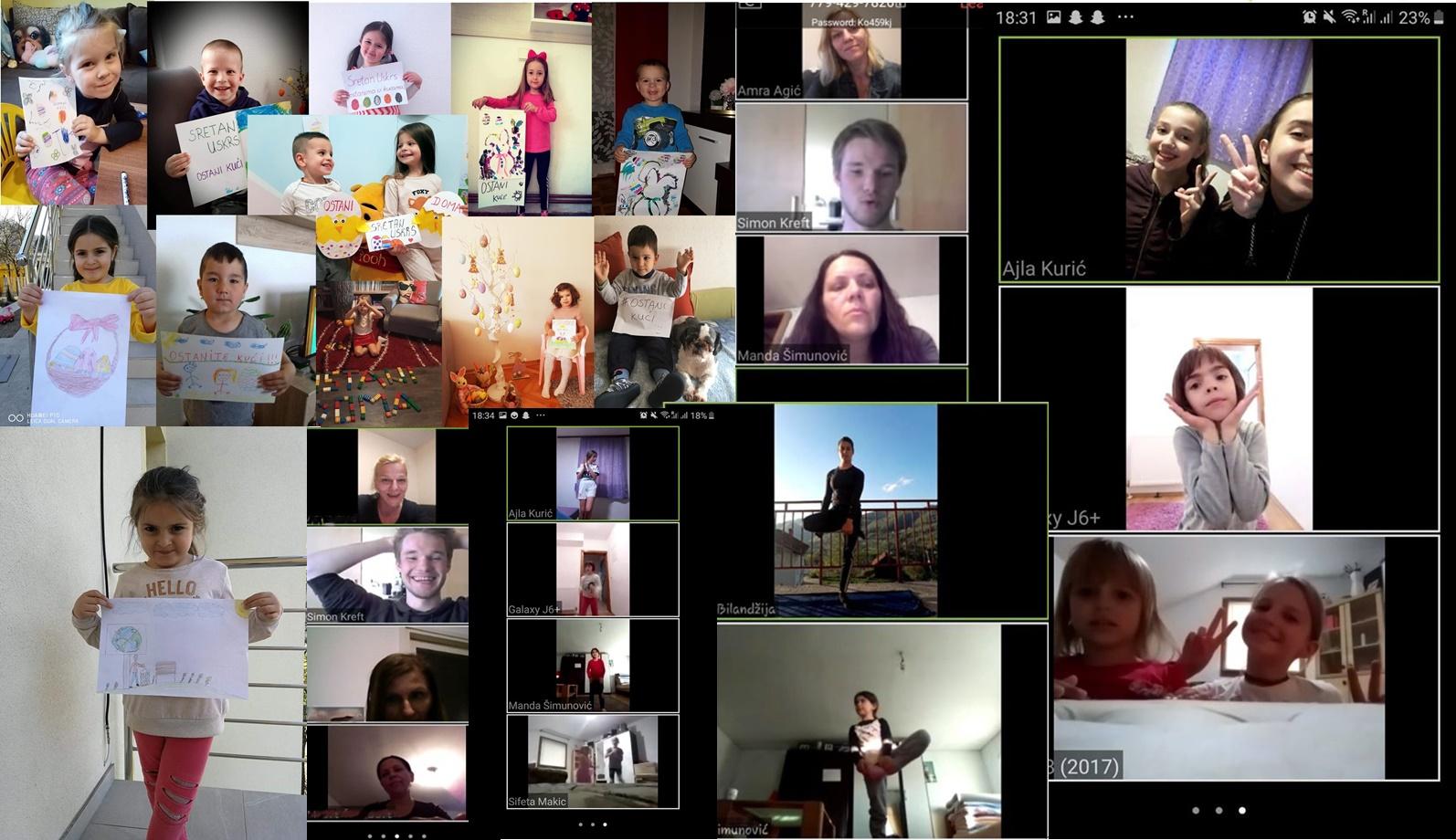 COD Jajce/Online programima protiv izolacije i zabrane