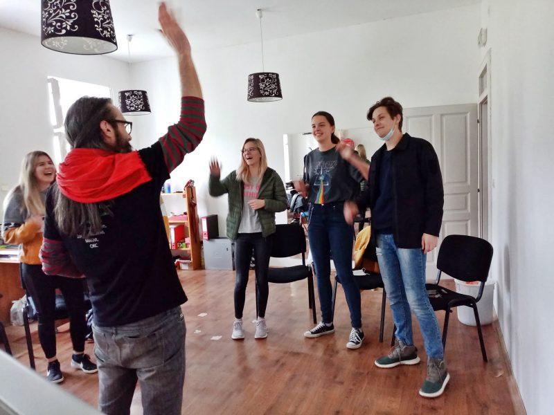 Rad na omladinskom aktivizmu u COD-u